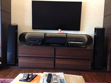 Tv with Sonus Faber H T